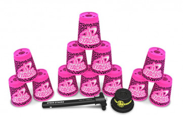 Speed Stacks Premium Zippy Leopard